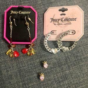 💎Juicy Couture Earring Bundle!💎